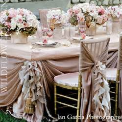 Pretty Table Decorations Wedding Reception Decor Inspiration Pretty Wedding Chairs Wildflower Linens Blush
