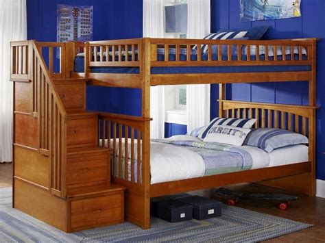 twin over full wood bunk bed bunk beds wooden twin over full bunk bed with trundle