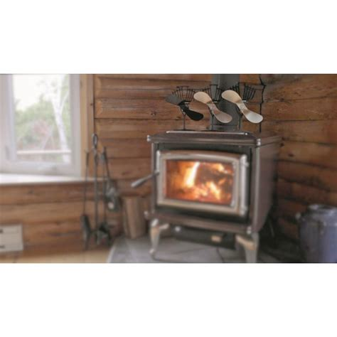 ecofan airmax heat powered wood stove fan 216268