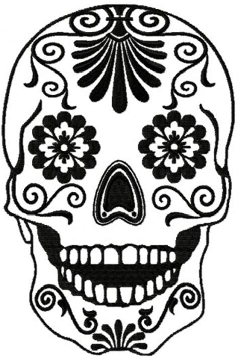 Sugar Skull Design Template sugar skulls on sugar skull day of the dead