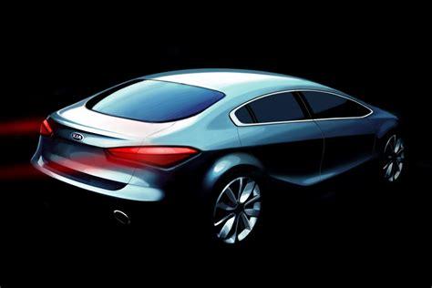 new kia forte 2014 all new 2014 kia forte cerato compact sedan teased