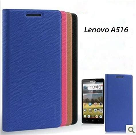 Flip Cover Lenovo A516 Black clearance lenovo a516 flip cover pouch casin end 12