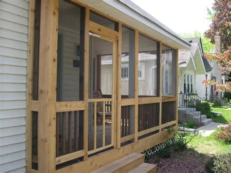 Glass Porch Doors Front Porch Front Porch Design Idea With Brown Wood Frame Of Screened Porch Designed With Single
