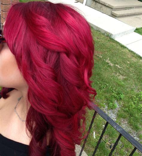 loreal hi color magenta hair loreal hi color magenta with a