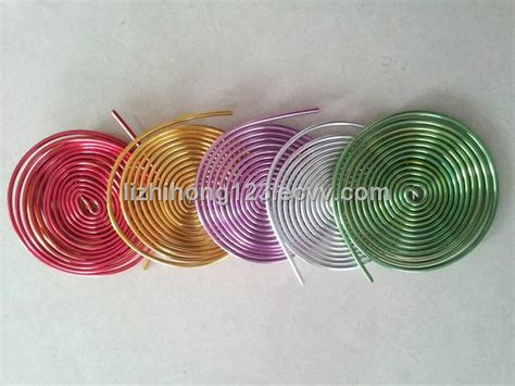 colored aluminum wire purchasing souring ecvv