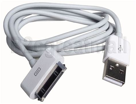 6 2m usb data sync charger cable for iphone 3g 4 4s ipod touch 1 2 3 ebay