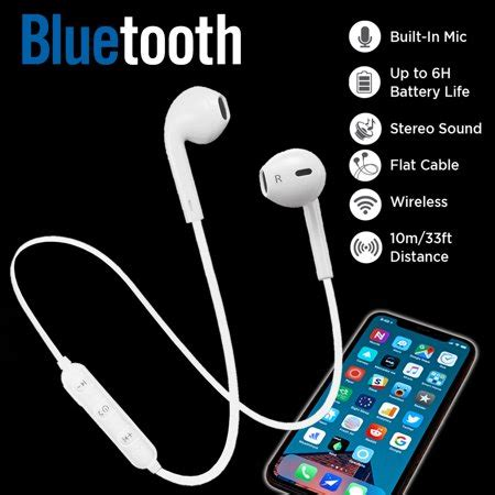 woozik melody bluetooth headphones wireless earbuds stereo earphone sport headsets for iphone