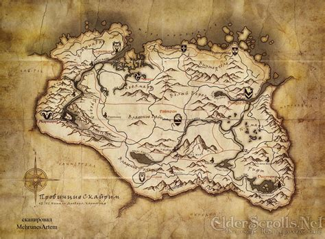 elder scrolls map view skyrim s map in russian smack