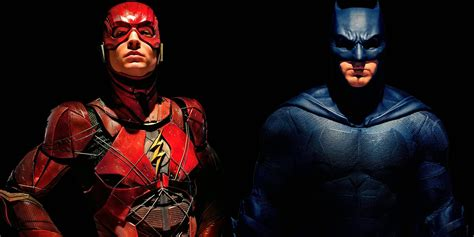 flash for justice league clip batman gives flash advice screen rant