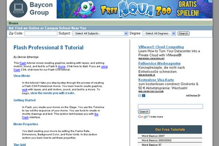 tutorial flash professional 8 21 helpful websites to learn flash and actionscript