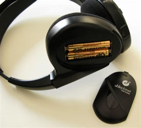 Gear Iphone 456 the ableplanet linx audio wireless infrared headphone