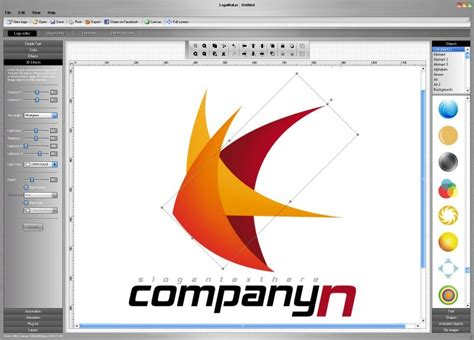 create logo design software free logo maker by logo maker v 2 4 software 173450
