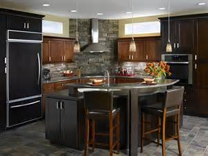 curved kitchen island curved island kitchen s home