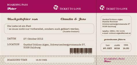 hochzeitseinladung ticket flugticket hochzeitseinladung ticket to