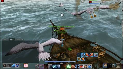 fishing boat archeage fishing on archeage with a fishing boat youtube