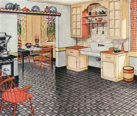1930 kitchen 1930s kitchen in a linoleum ad 1926 blabon linoleum ad linoleum by the george w blabon company vintage kitchen