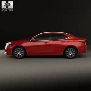 acura tlx 2014 3d model humster3d