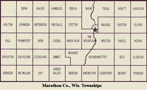 Marathon County Records Marathon County Wisconsin History Index