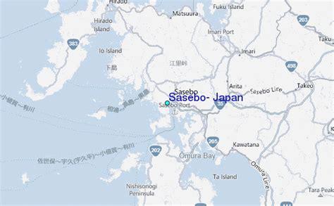 Sasebo, Japan Tide Station Location Guide