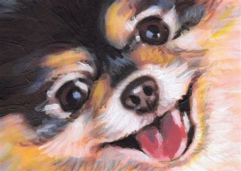pomeranian painting pomeranian puppy sketches one painting or drawing all things pomeranian