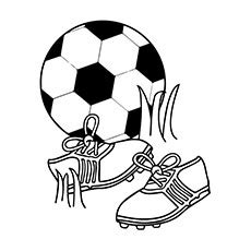soccer birthday coloring pages soccer ball colouring clipart best