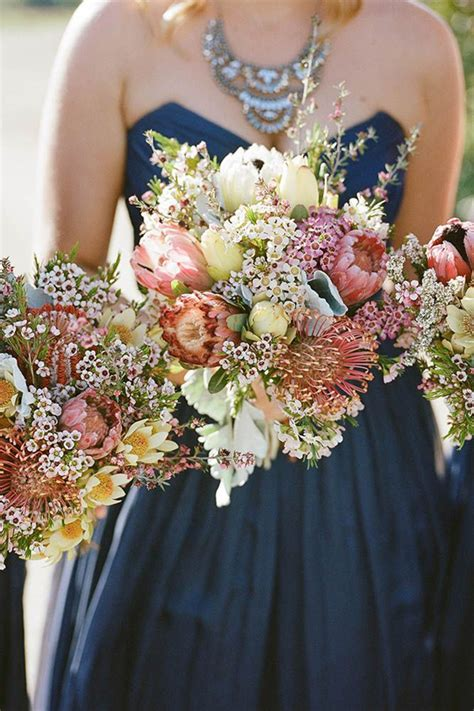 26 most gorgeous toned wedding bouquets