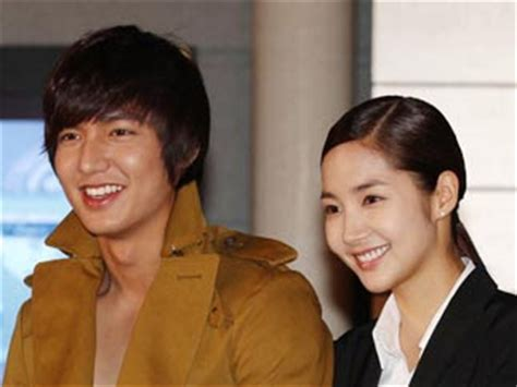 film lee min ho romantis news city hunter actors admit they are engaged in a