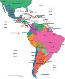 map of central and america 25 best ideas about america map on