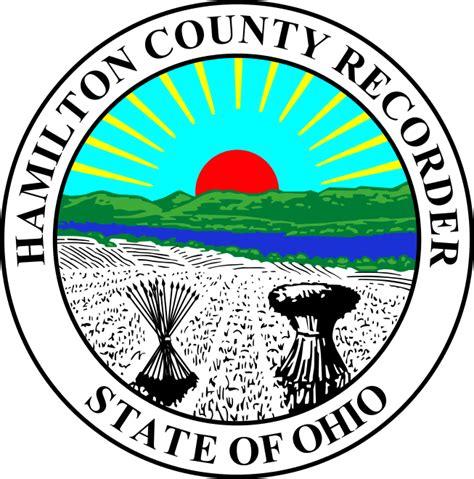 Hamilton County Oh Search File Seal Of Hamilton County Ohio Recorder Svg