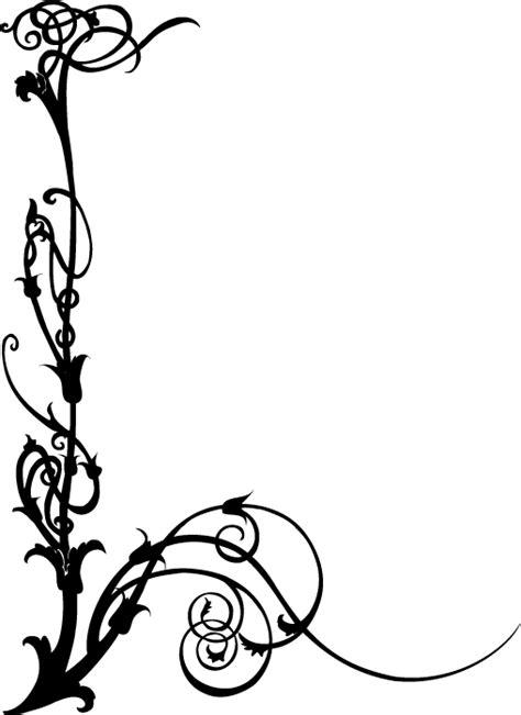 buku knot hairstyle art deco border designs art nouveau swirls free vector