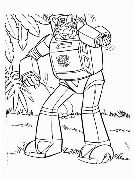 transformers 3 free colouring pages