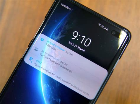 Samsung Galaxy S10 Lock Screen by Samsung Galaxy S10 How To Show Detailed Lock Screen Notifications