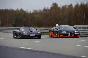 Bugatti Vs Koenigsegg Agera Bugatti Veyron Vs Koenigsegg Agera Pictures To Pin On