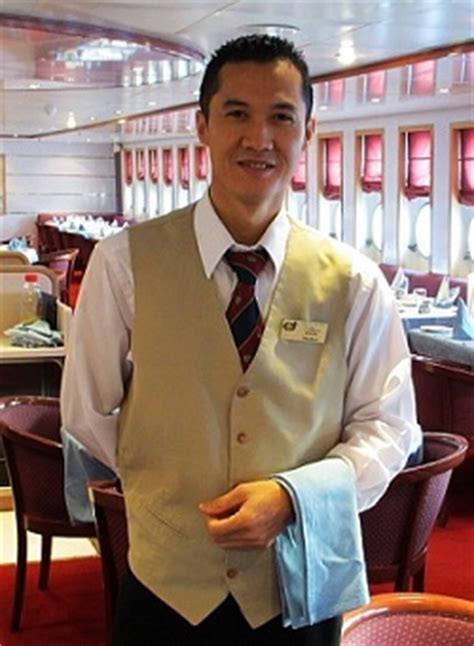 what is a celebrity managers job cruise ship jobs head waiter chef de rang