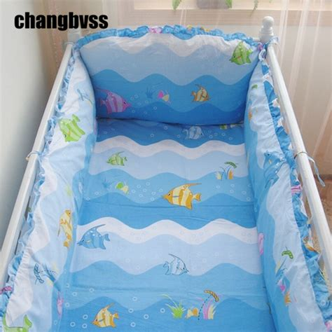 Toddler Bedding For Crib Mattress Baby Bed Bumper 5 Pcs Cot Crib Bumper Sheet Set Chichoneras Cuna Infant Toddler Bedding Set