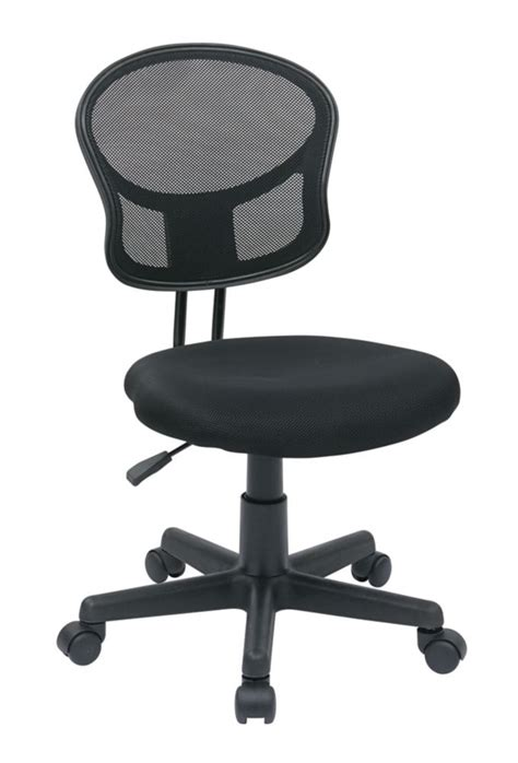 Office Chairs At Home Depot Office Black Mesh Task Chair The Home Depot Canada