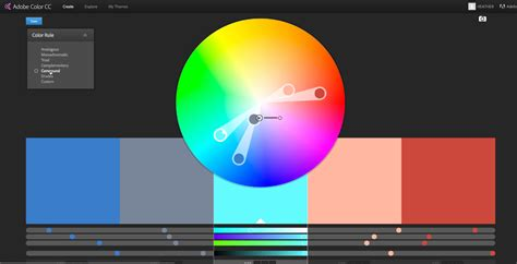 ku colors color inspiration and using color themes jschool tech
