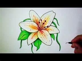 Comment Dessiner Une Fleur De Lys Tutoriel Youtube