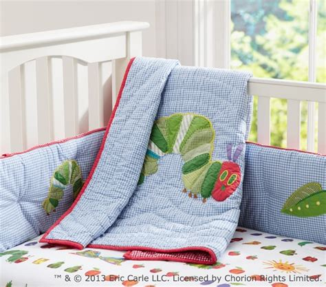 Eric Carle Crib Bedding The Hungry Caterpillar Baby Bedding Set Pottery Barn