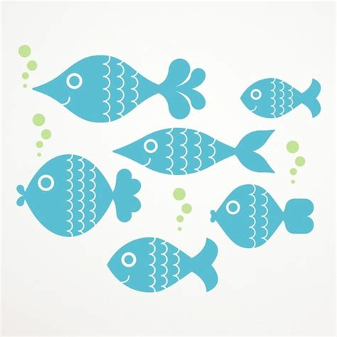 wall stickers fish big fish decals underwater vinyl wall by graphicspaces