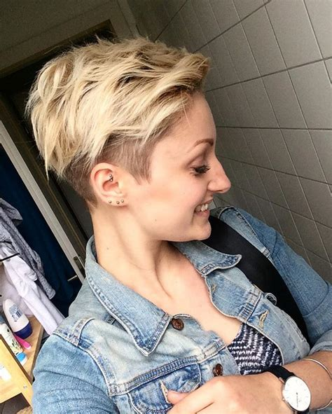 hairstyle makeovers for 50 25 best ideas about blonde pixie cuts on pinterest