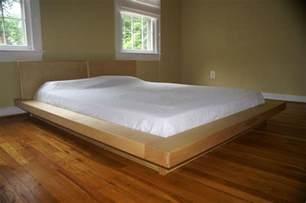 made king size platform bedframe bed by edward