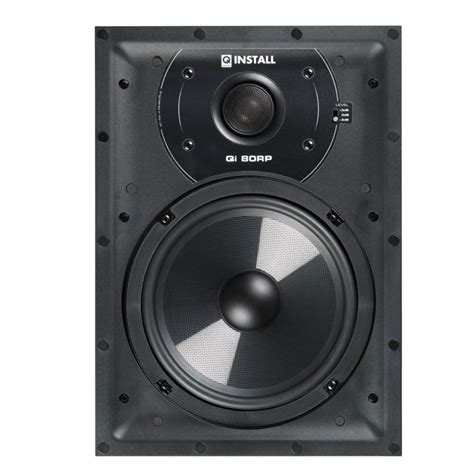 q acoustics qi80rp in wall speakers pair soundlab new