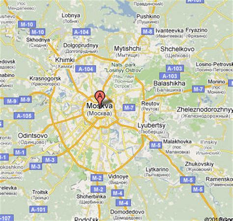 Image Gallery moscow map google