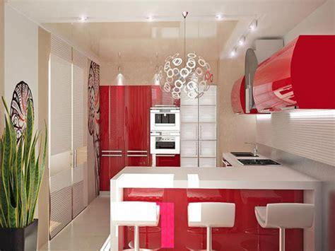 red and white kitchen designs 24 splashy kitchen design ideas for small kitchens