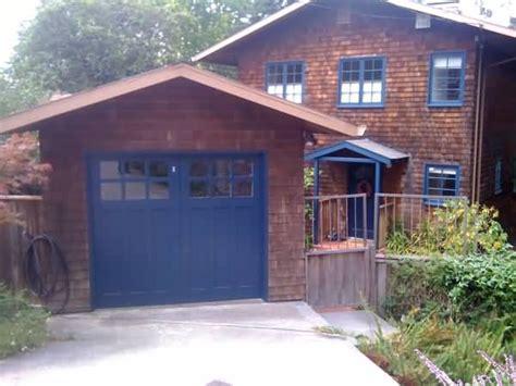 Blue Garage Door by Blue Garage Door Paint Colors For Exterior