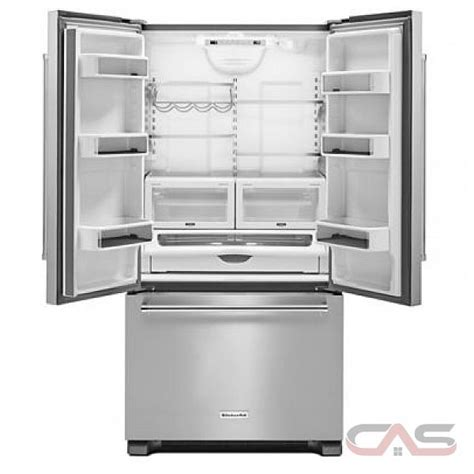 kitchenaid refrigerator door counter depth kitchenaid krfc302ebs door refrigerator 36 quot width