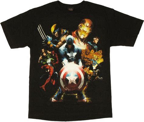 Kaosbajut Shirt Civil War marvel civil war t shirt
