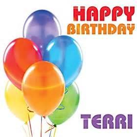 amazon com happy birthday terri single the birthday