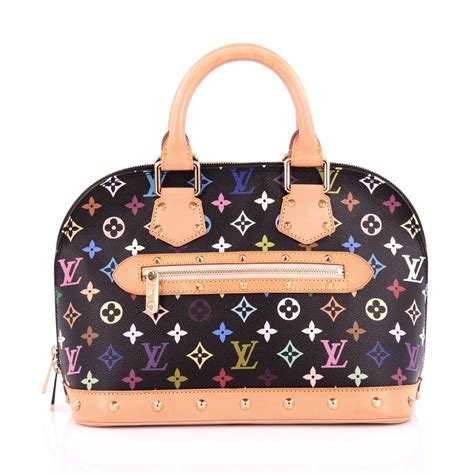 buy louis vuitton alma handbag monogram multicolor pm